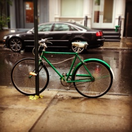 left in the rain (downtown)