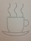 Sexiest cup of coffee (@Moma). voulez vous coucher avec moi ce soir..? (MOMA museum)