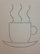 Sexiest cup of coffee (@Moma). voulez vous coucher avec moi ce soir..? (MOMA museum)