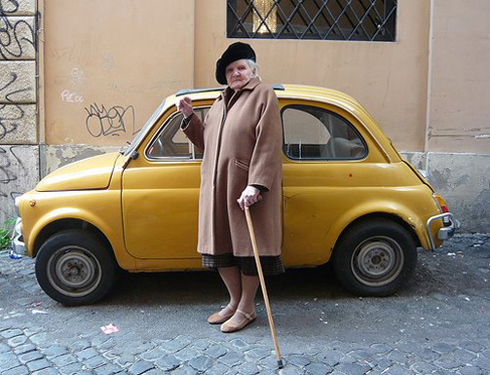 Fashion abroad….what I learnt from Italian grannies