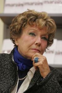 Dacia Maraini, author, 77 years old, born in Florence