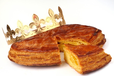 "Our ""galette des rois"" French traditionally eat on Epiphany day"