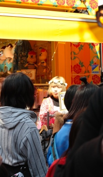 Harajuku and its crazy colours...