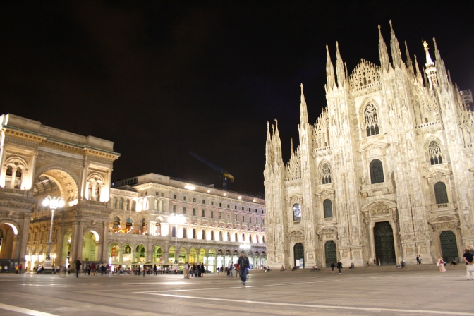 Milan, Italy, a love and hate story