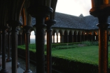 it's rare to see cloisters having such a breath-taking sea view