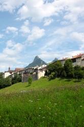 gruyere mountains village