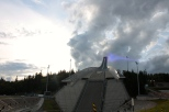 The impressive Holmenkollen Olympic ski jump. Great views over the city and the fjord, and for those who want to get some adrenaline, they can get a taste of ski jump on the zipline