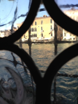 from the guggenheim museum, venice