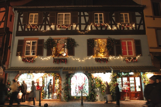"[Travelling in my kitchen] to…Alsatian Christmas markets, lots of mulled wine and a ""pain d'épices"" recipe"