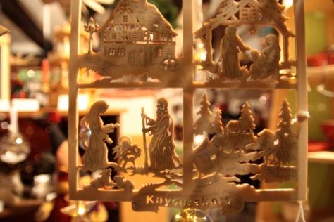 kaysersberg village alsace christmas market
