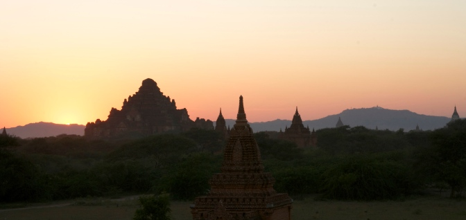 The surreal archaeological site of Bagan, Myanmar (Burma)