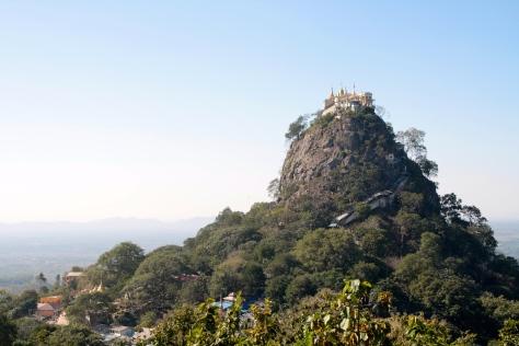 mount popa sacred volcanoe
